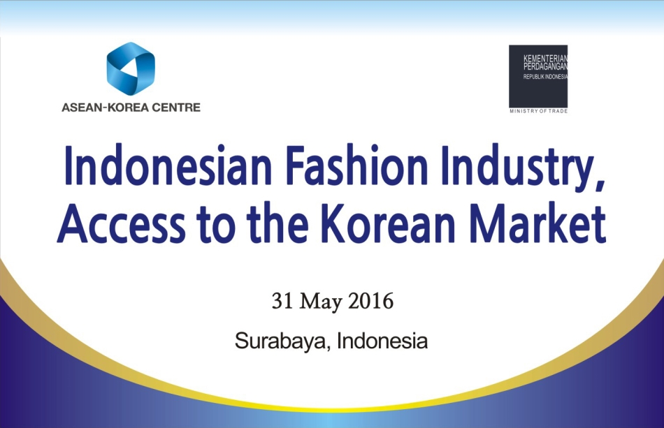 ASEAN-KOREA CENTRE : Product Development Workshop in Indonesia